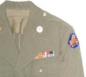 14th AF tunic with Flying Tigers patch
