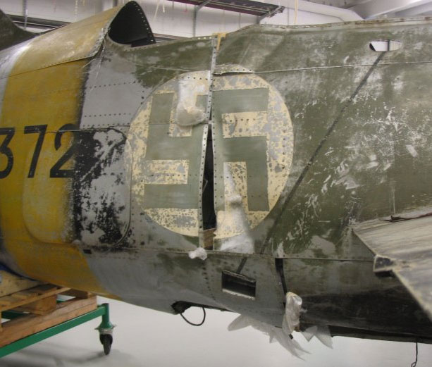 BW-372's fuselage roughly joined