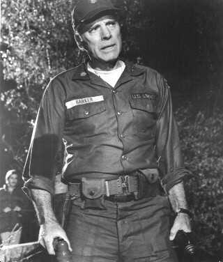 Burt Lancaster as Major Barker