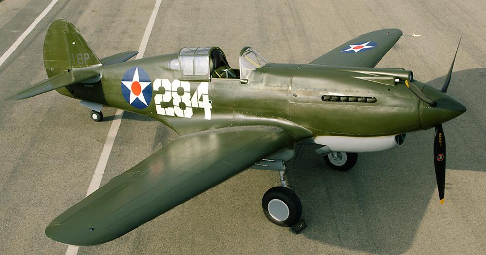 Restored P-40B