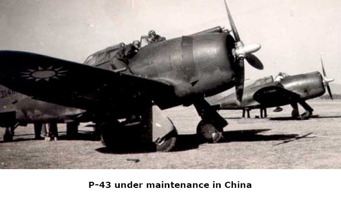 P-43 under maintenance in China