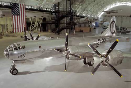 Enola Gay at NASM's Udvar-Hazy annex