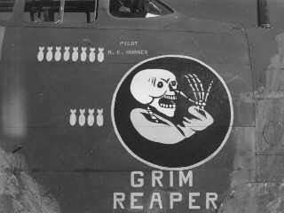 The Grim Reaper (Capt. Horner, aircraft