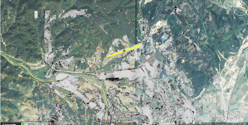 CAMCO airstrip on Google Earth