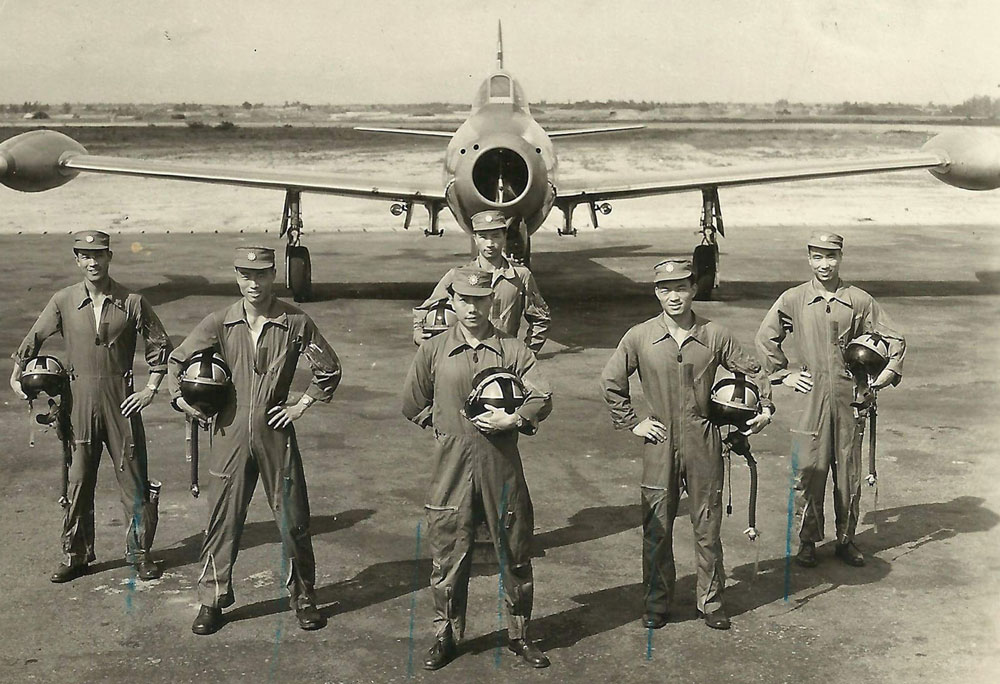 CAF pilots with