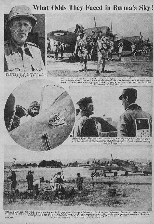 page from The War Illustrated
